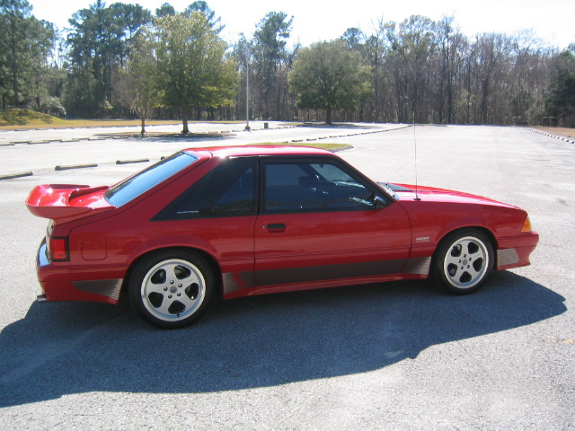 93 Saleen Ford Mustang Supercharged 010
