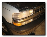 2000-2006 GM Chevrolet Tahoe Headlight Bulbs Replacement Guide