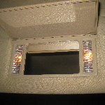 2000-2006 GM Chevrolet Tahoe Vanity Mirror Light Bulbs Replacement Guide