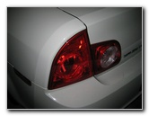 2008-2012 GM Chevy Malibu Tail Light Bulbs Replacement Guide