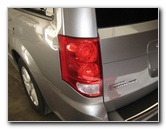 Dodge Grand Caravan Reverse Tail Light Bulbs Replacement Guide