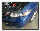 2012-2015 Honda Civic Headlight Bulbs Replacement Guide
