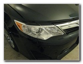2012-2016 Toyota Camry Headlight Bulbs Replacement Guide