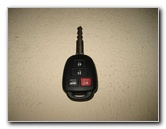 Toyota Camry Key Fob Battery Replacement Guide 2012 To