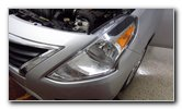 2012-2019 Nissan Versa Headlight Bulbs Replacement Guide