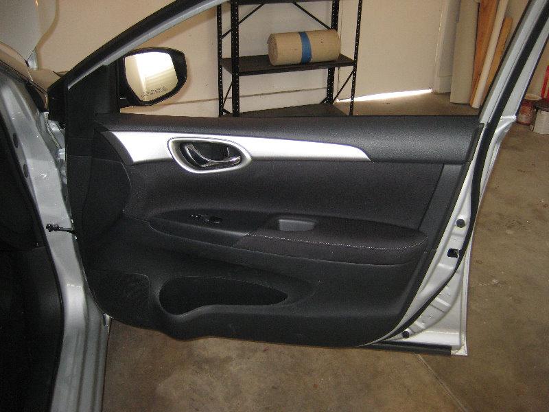 2013 2015 Nissan Sentra Interior Door Panel Removal