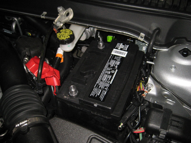 2013 2016 Ford Fusion 12v Automotive Battery Replacement