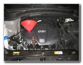 2013-2016 Hyundai Santa Fe Theta II 2.4L I4 GDI Engine Oil Change Guide