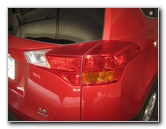 Toyota Rav4 Tail Light Bulbs Replacement Guide 2013 To