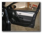 2014-2018 Toyota Corolla Interior Door Panel Removal Guide