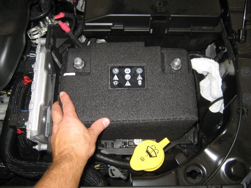 Chrysler V Automotive Battery Replacement Guide on 2015 Chrysler 200 Battery