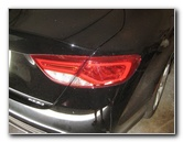 2015-2017 Chrysler 200 Tail Light Bulbs Replacement Guide