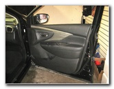 2015-2018 Nissan Murano Interior Door Panel Removal Guide