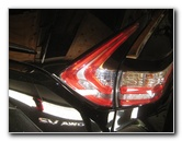 2015-2018 Nissan Murano Reverse Light Bulbs Replacement Guide