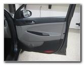 2016-2018 Hyundai Tucson Plastic Interior Door Panel Removal Guide