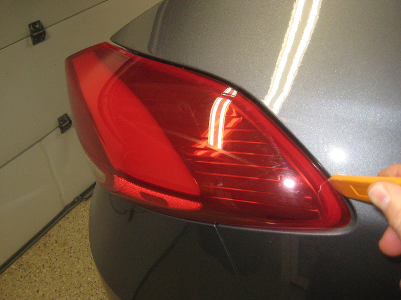 2016 2018 Hyundai Tucson Tail Light Bulbs Replacement
