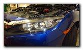 2016-2019 Honda Civic Headlight Bulbs Replacement Guide