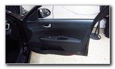 2016-2020 Kia Optima Plastic Interior Door Panels Removal Guide