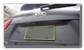 2016-2020 Kia Sorento License Plate Light Bulbs Replacement Guide