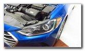 2017-2020 Hyundai Elantra Headlight Bulbs Replacement Guide