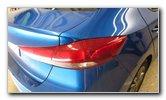 2017-2020 Hyundai Elantra Tail Light Bulbs Replacement Guide