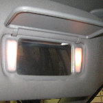 2001-2006 Acura MDX Vanity Mirror Light Bulbs Replacement Guide