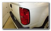 2015-2019 GM Chevrolet Colorado Tail Light Bulbs Replacement Guide