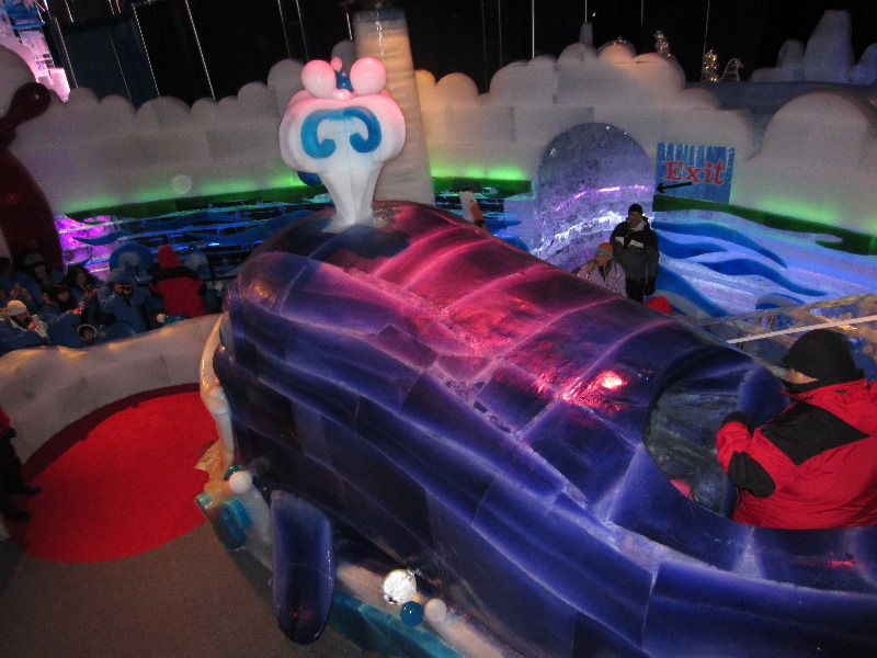 Ice Kingdom Queen Mary Long Beach Ca 018
