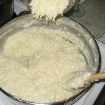 Creamy Three Cheese Risotto Rice Recipe