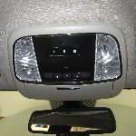2011-2015 Dodge Durango Map Light Bulbs Replacement Guide