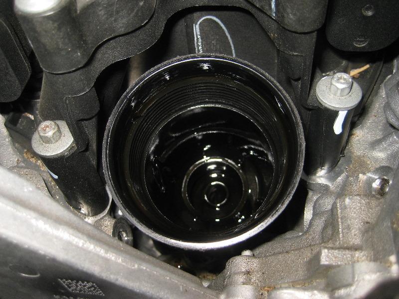 Dodge Durango Pentastar V Engine Oil Change Filter Replacement Guide