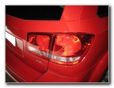 Dodge Journey Tail Light Bulbs Replacement Guide 2009 To