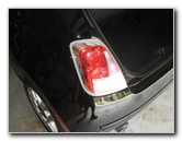 2008-2015 Fiat 500 Tail Light Bulbs Replacement Guide