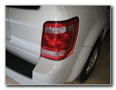 Ford Escape Tail Light Bulbs Replacement Guide