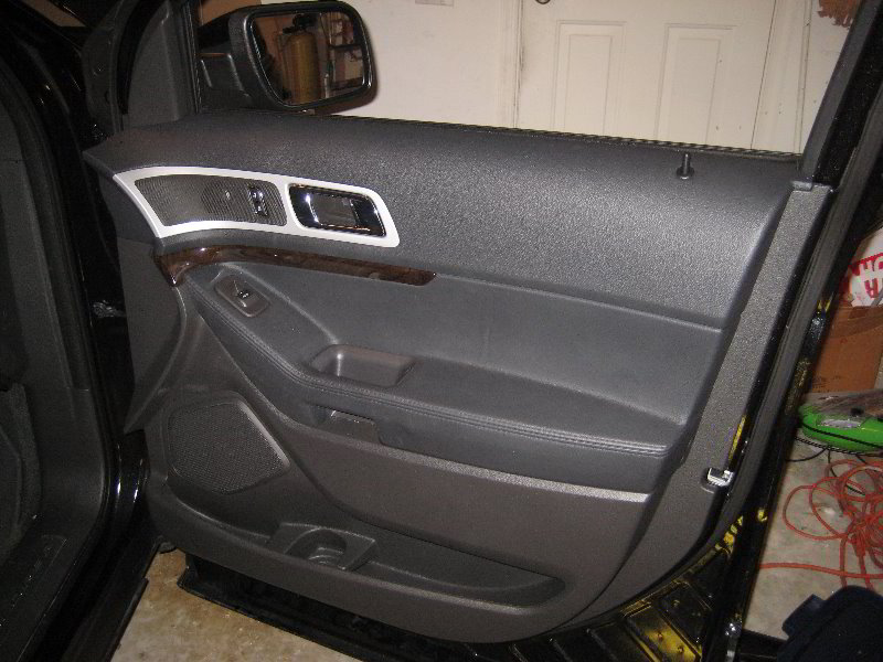 Ford Explorer Interior Door Panel Removal Guide 060