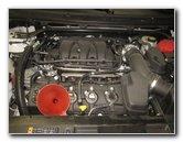 2009-2019 Ford Flex Duratec 35 3.5L V6 Engine Oil Change Guide