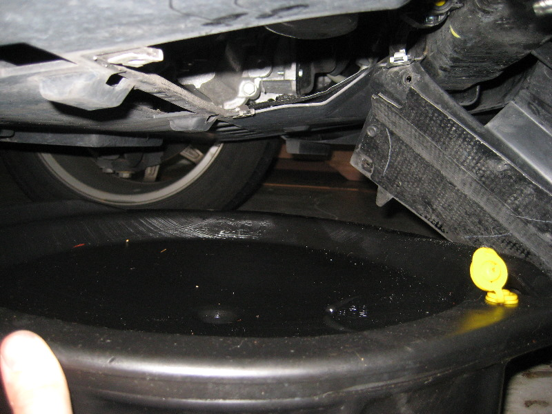 2012 ford fusion oil change
