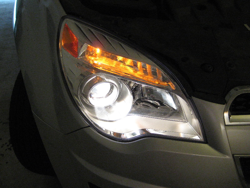 2011 chevy equinox headlight bulb replacement air powered grease pump
