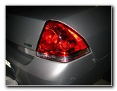 Chevy Impala Tail Light Bulbs Guide