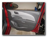 Chevrolet Sonic Interior Door Panel Removal Guide