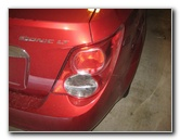 GM Chevy Sonic Tail Light Bulbs Replacement Guide
