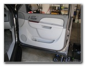 Chevrolet Tahoe Interior Door Panel Removal Guide
