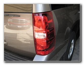 GM Chevy Tahoe Tail Light Bulbs Replacement Guide