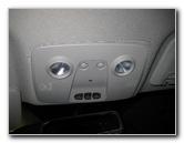 Gm Chevrolet Traverse Overhead Map Light Bulbs Replacement