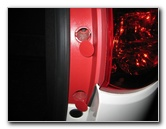 Gm Chevrolet Traverse Tail Light Bulbs Replacement Guide