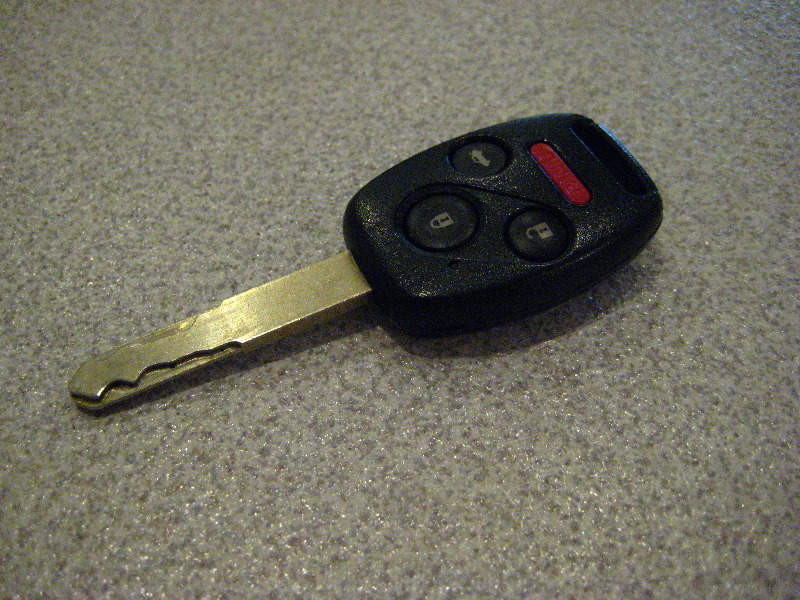 Honda Accord Key Fob Remote Battery Replacement Guide 001