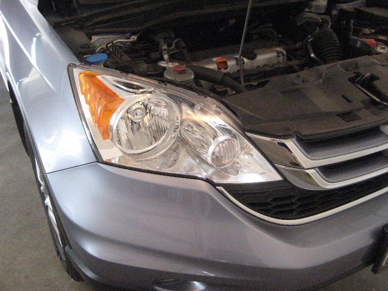 honda cr  headlight bulbs replacement guide