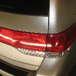 2005-2010 Honda Odyssey Tail Light Bulbs Replacement Guide