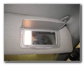 2005-2010 Honda Odyssey Vanity Mirror Light Bulb Replacement Guide