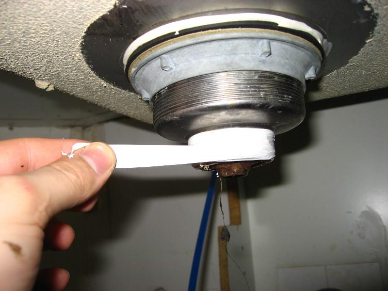 Kitchen Sink Drain Leak Repair Guide 021